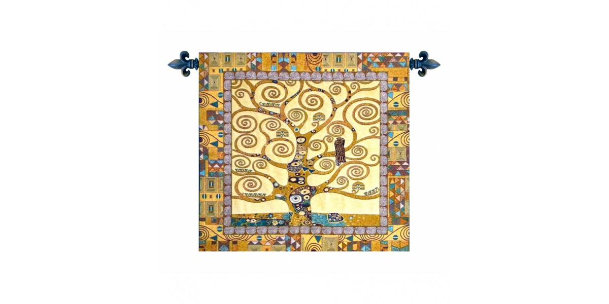 Gobelín  - Tree of life by Gustav Klimt