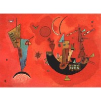 Gobelín  - For and against by Kandinsky