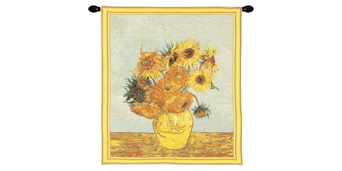 Gobelín  - Tournesols by Van Gogh