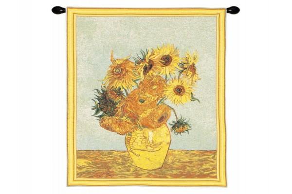 Gobelín Ubrus  -  Les Tournesols by Vincent van Gogh