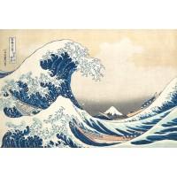 Gobelín  - The great wave by Katsushika Hokusai