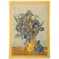 Gobelín  - Vase Iris By Van Gogh
