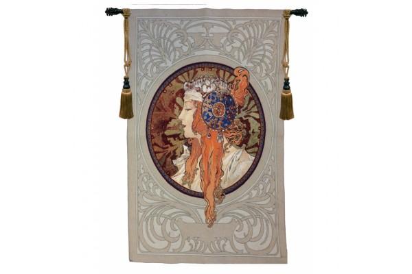 Gobelín  -  Rousse Byzantine by Alfons Mucha