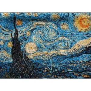 Gobelín - Starry Night II By Van Gogh