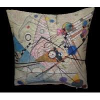 Gobelínový povlak na polštář  - Compositon VIII  by Wassily Kandinsky
