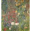 Gobelín  -  Flower Garden III by Gustav Klimt