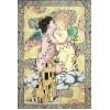 Gobelín tapiserie   - The  kiss by William A. Bouguerau