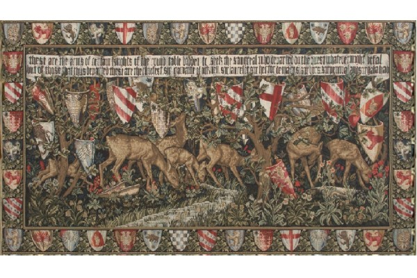Gobelín  -  Coat of Arms by William Morris
