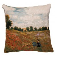 Gobelínový povlak na polštář  - Coquelicots by Monet