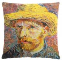 Gobelínový povlak na polštář  - Autoportrait by Vincent van Gogh