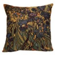 Gobelínový povlak na polštář  - Blue IRIS  by Vincent van Gogh