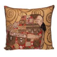 Gobelínový povlak na polštář  - Accomplissement II by Gustav Klimt