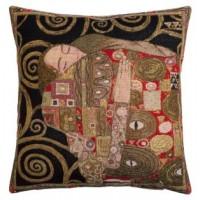 Gobelínový povlak na polštář  - Accomplissement by Gustav Klimt