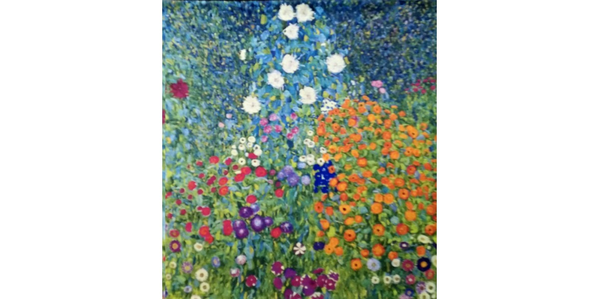 Gobelín  -  Flower Garden III by Klimt
