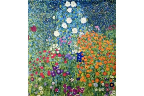 Gobelín  -  Flower Garden II by Klimt