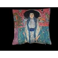 Gobelínový povlak na polštář  - Adel from the collection of the museum on Attersee by Gustav Klimt