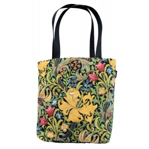 Big Bag taška  - Golden lily by William Morris