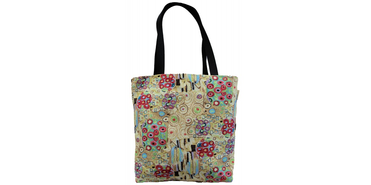 Shoping Bag taška  - Flowers Gustav Klimt