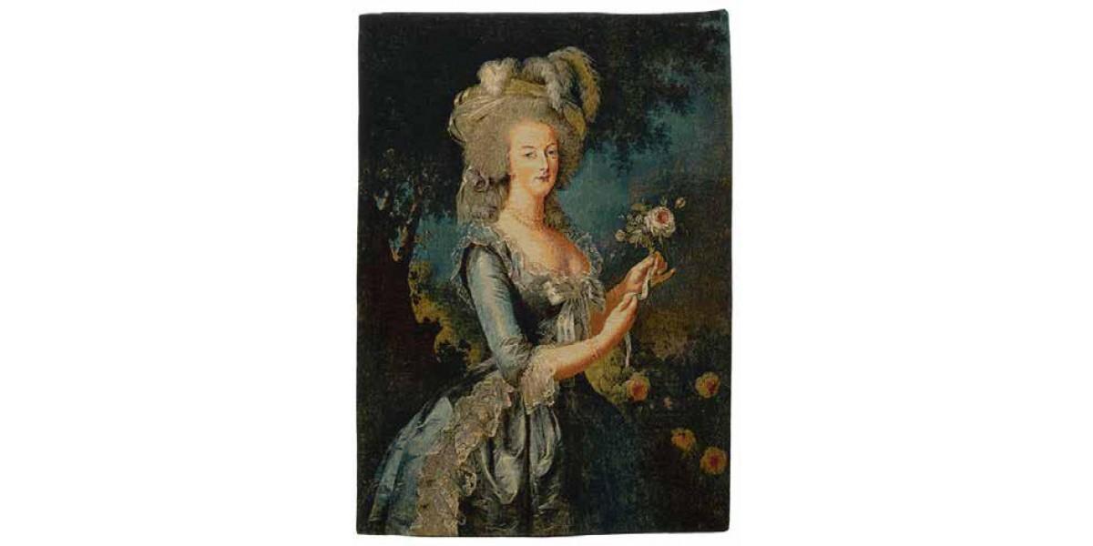 Gobelín  - Marie Antoinette by ÉLISABETH VIGÉE LE BRUN