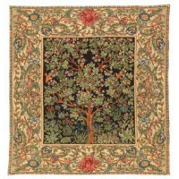 Gobelín Pled  -  Arbre de vie by William Morris