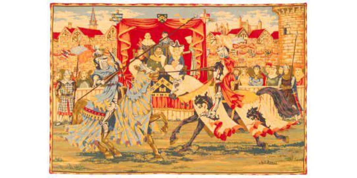 Gobelín  -  Lice medievale