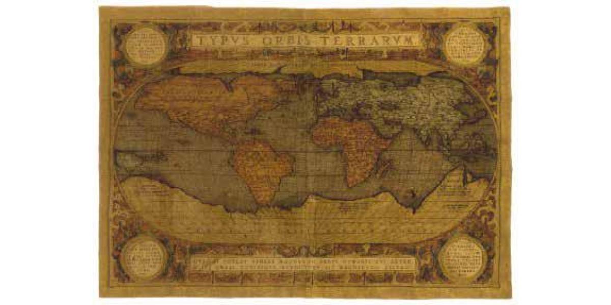 Gobelín  -  Map du monde