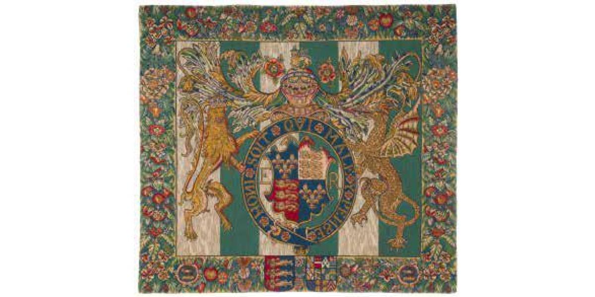 Gobelín  -  Royal arms