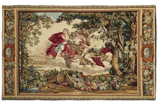 Gobelín  - Décoration Bacchus pour Versailles