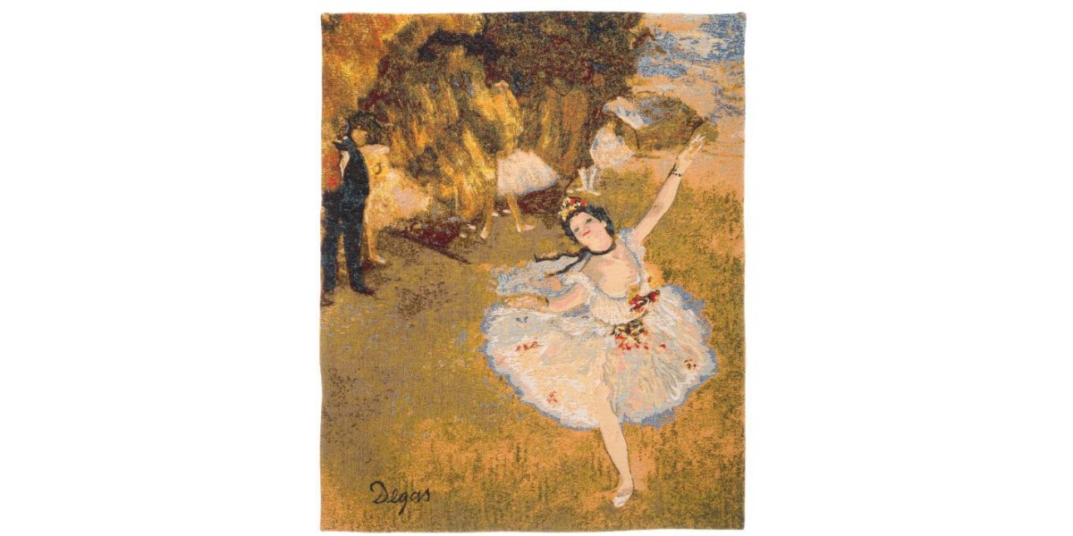 Gobelín  - Danseuse by EDGAR DEGAS