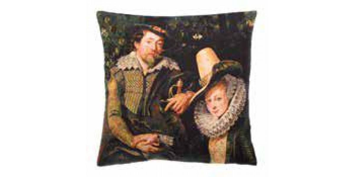 Gobelínový povlak na polštář - Rubens & Isabella Brant