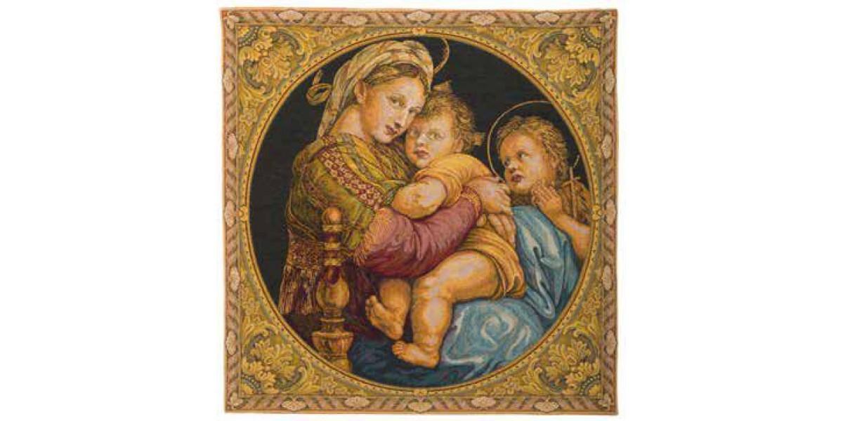 Gobelín  - Madonna seggiola by Raphael