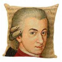 Gobelínový povlak na polštář  -  Mozart