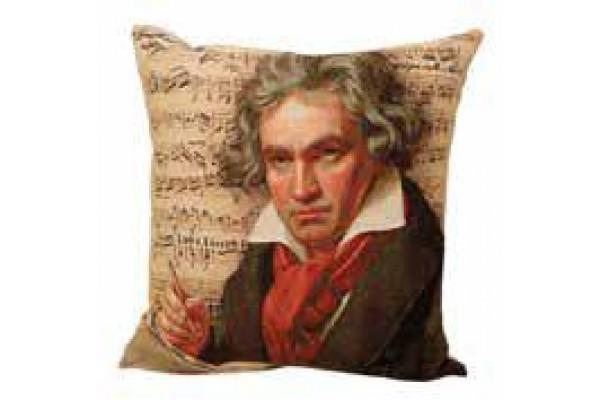Gobelínový povlak na polštář  -  Beethoven