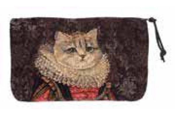 Kosmetická taška  - Chat à la couronne III