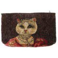 Kosmetická taška  - Chat à la couronne I