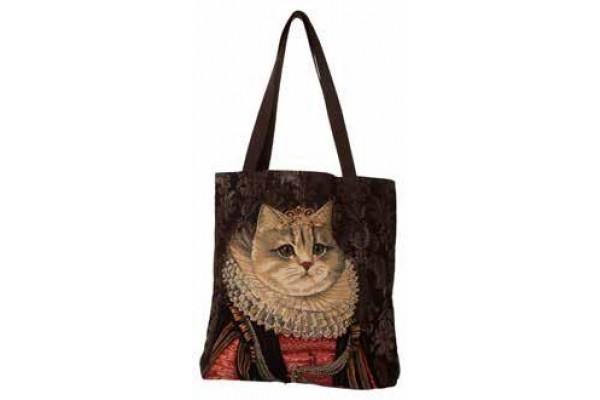 Big Bag taška  - Chat à la couronne III