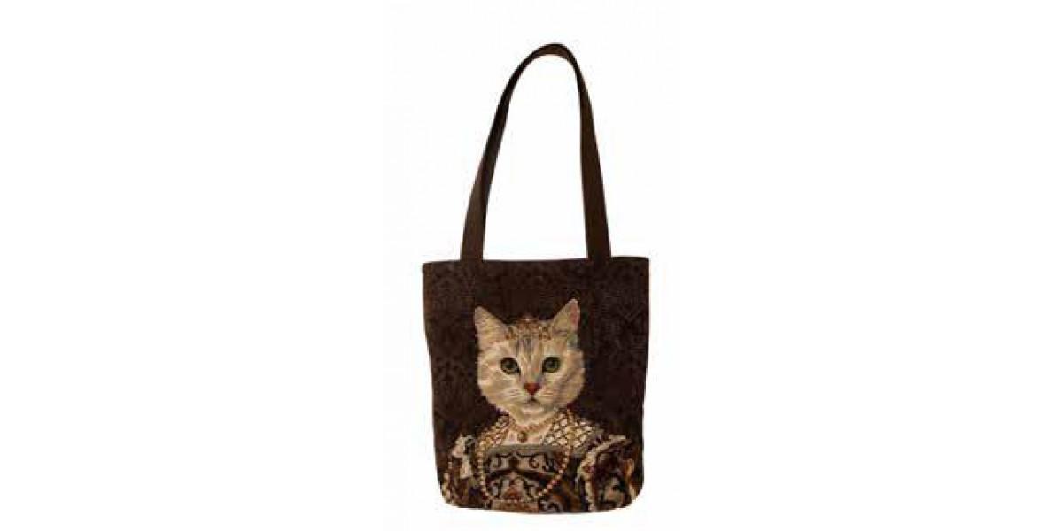 Big Bag taška  - Chat à la couronne II