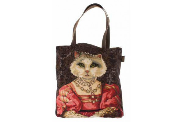 Big Bag taška  - Chat à la couronne I