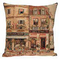 Gobelínový povlak na polštář - Rues de Paris