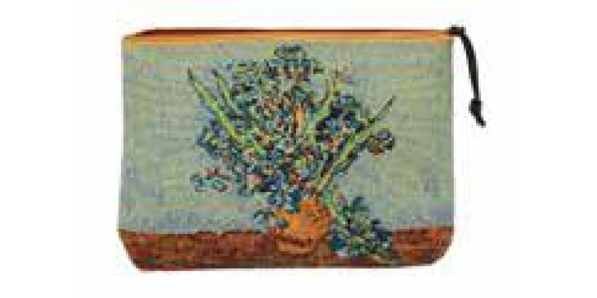 Kosmetická taška  - Vase Iris by Vincent van Gogh