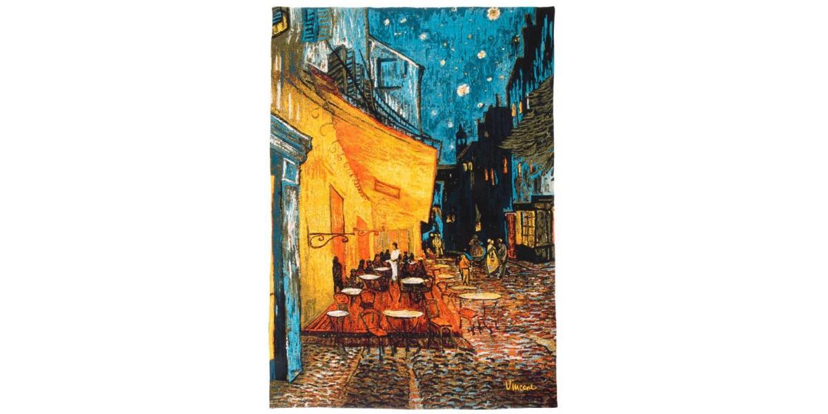 Gobelín  - TERRASSE ETOILEE III by Van Gogh