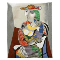 Gobelín  - Prtrait de Marie Therese  by Picasso ( rok 1937)