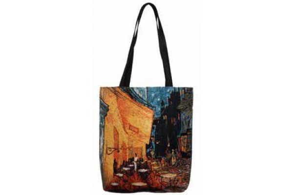 Big Bag taška  -  Night cafe by Vincent van Gogh