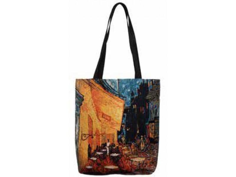 Big Bag taška  -  Night cafe by Vincent van Gogh