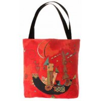 Shopper kabelka  -  For and against by Wassily Kandinsky
