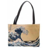 Big Bag taška  - The great wave by Katsushika Hokusai