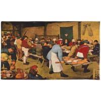 Gobelín  - Le repas de noce by Bruegel