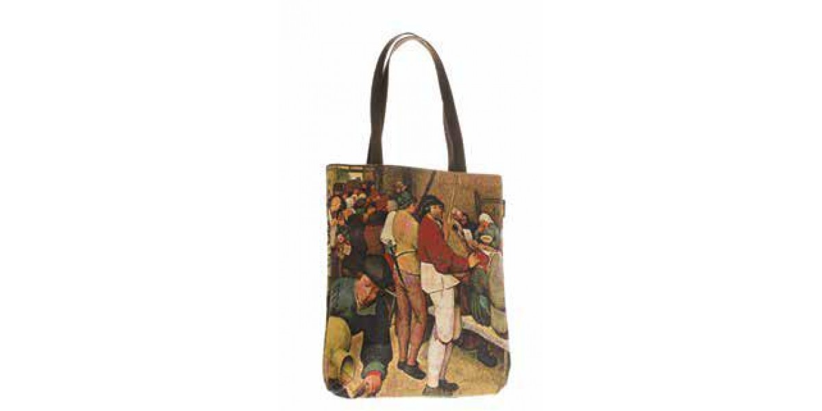 Big Bag taška  -  Le repas de noce by PIETER BRUEGEL LANCIEN
