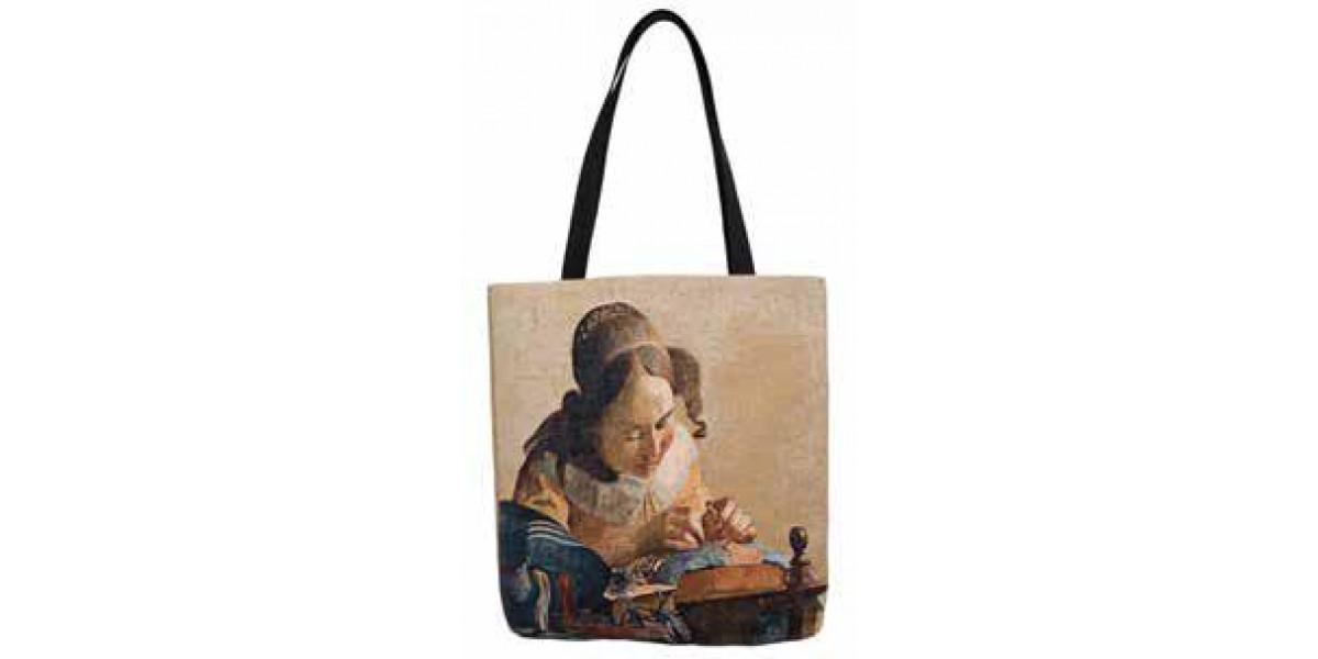 Shopper kabelka  - La Dentelliere by Vermeer