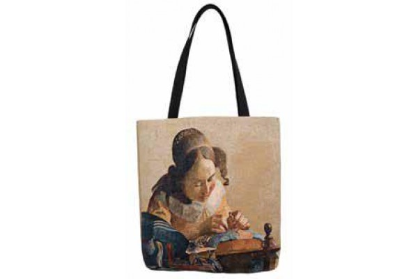 Big Bag taška  - La Dentelliere by Vermeer